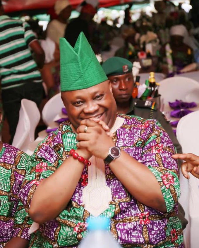 Justice: Davido's Uncle Senator Ademola Adeleke declared Osun State governor-elect