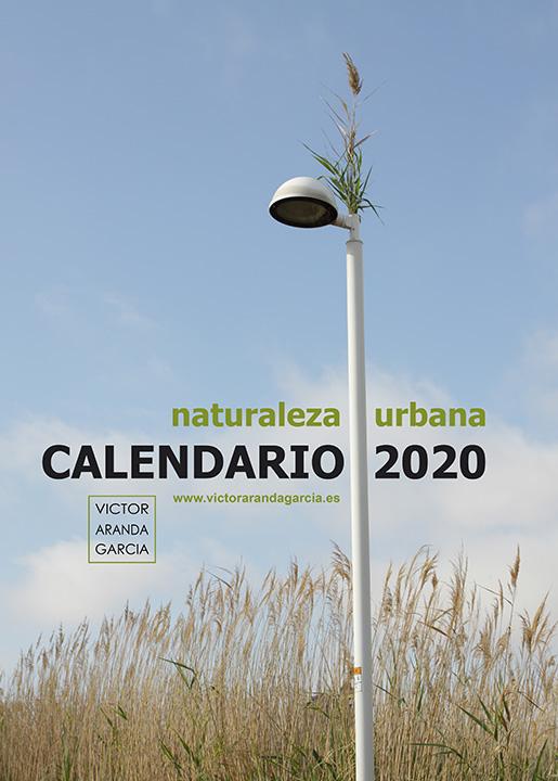 Portada del calendario de fotografía de naturaleza urbana