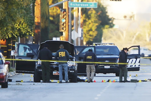 The San Bernardino Mass Shooting Getaway Car 2nd Location