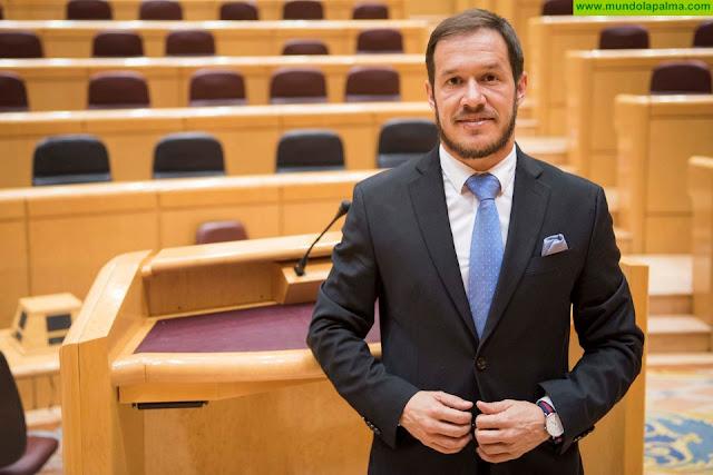 """Zapata:  """"La Palma ha dejado de estar en la agenda nacional desde que Pedro Sánchez desembarco en La Moncloa"""""""