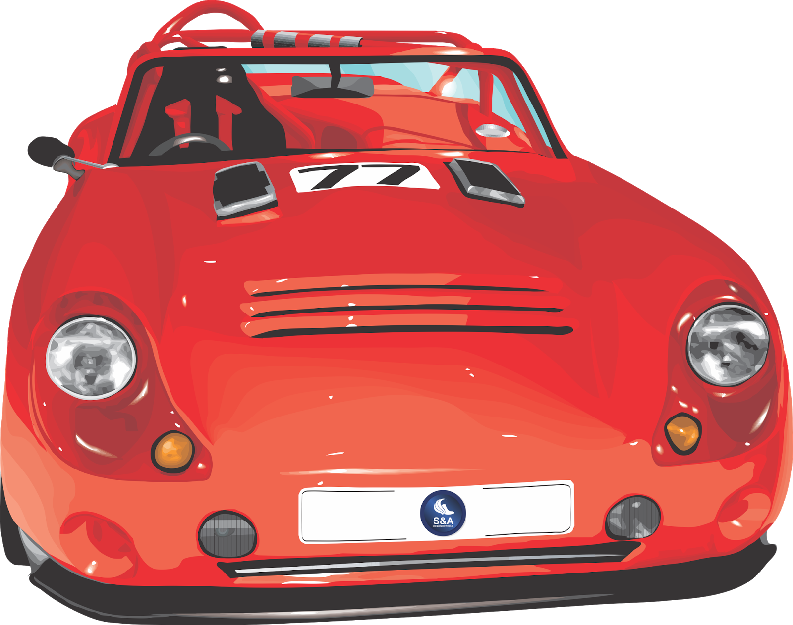 Free vector about car & Truck vector graphics ~ Designer World