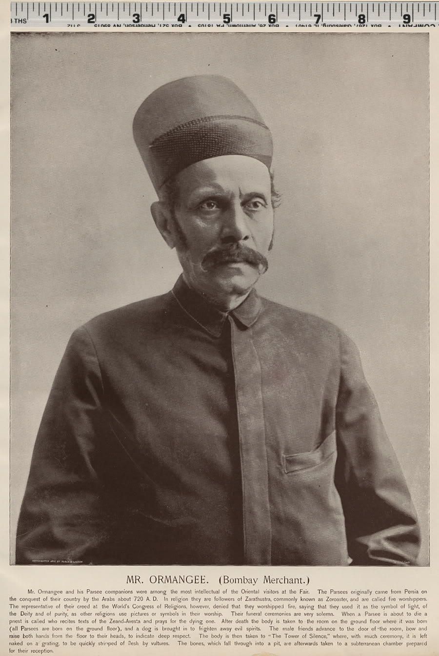 Mr. Ormangee, Bombay Merchant - 1893 Portrait