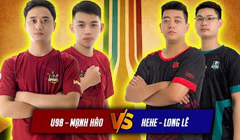 U98 - Mạnh Hào vs Hehe - Long Lê | 2vs2 Random | 22/05/2021