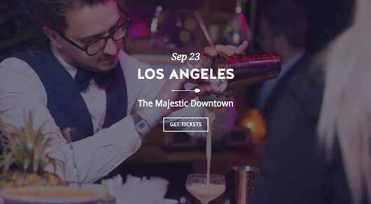 It's Borderline Genius: Cocktail Loving Friends Required - Cocktails in the City hits LA on 9/23