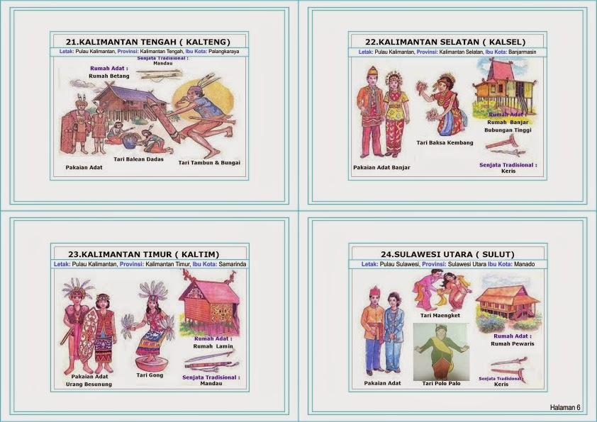 Pelajaran Seni Budaya, Suku, Tarian Tradisional, Senjata Tradisional ...