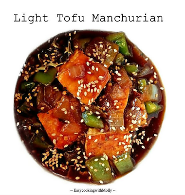 Light Tofu Manchurian
