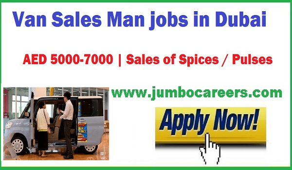 Sales man jobs Dubai May 2018, Van Sales man Job With Salary AED 7000