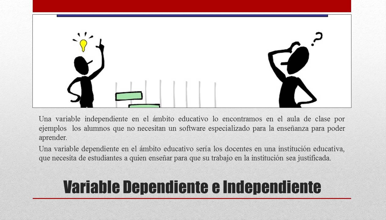 VARIABLES ~ PROYECTO EDUCATIVO