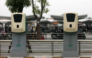 Lộ diện trạm sạc cho ô tô điện đầu tiên VinFast GreenStation tại Vinhomes Ocean Park, Hà Nội