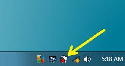 menghilangkan silang merah pada baterai laptop