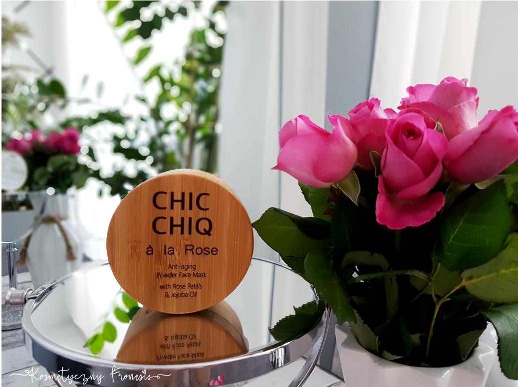 CHIC CHIQ - A LA ROSE, MASECZKA Z TYSIĄCA PŁATKÓW KRÓLEOWEJ KWIATÓW.. RÓŻY DAMASCEŃSKIEJ