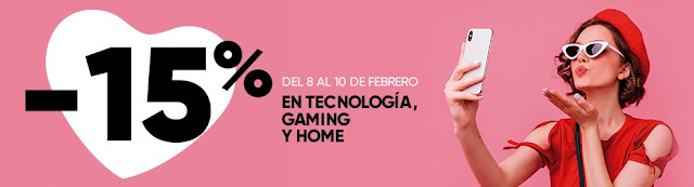 Top 20 ofertas -15% en tecnología, gaming y home de Fnac.es