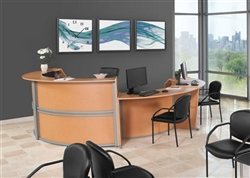 OFM Marque Curved Reception Desk