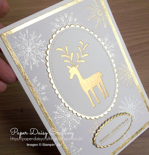Stampin' Up! Merryt Mistletoe Christmas card