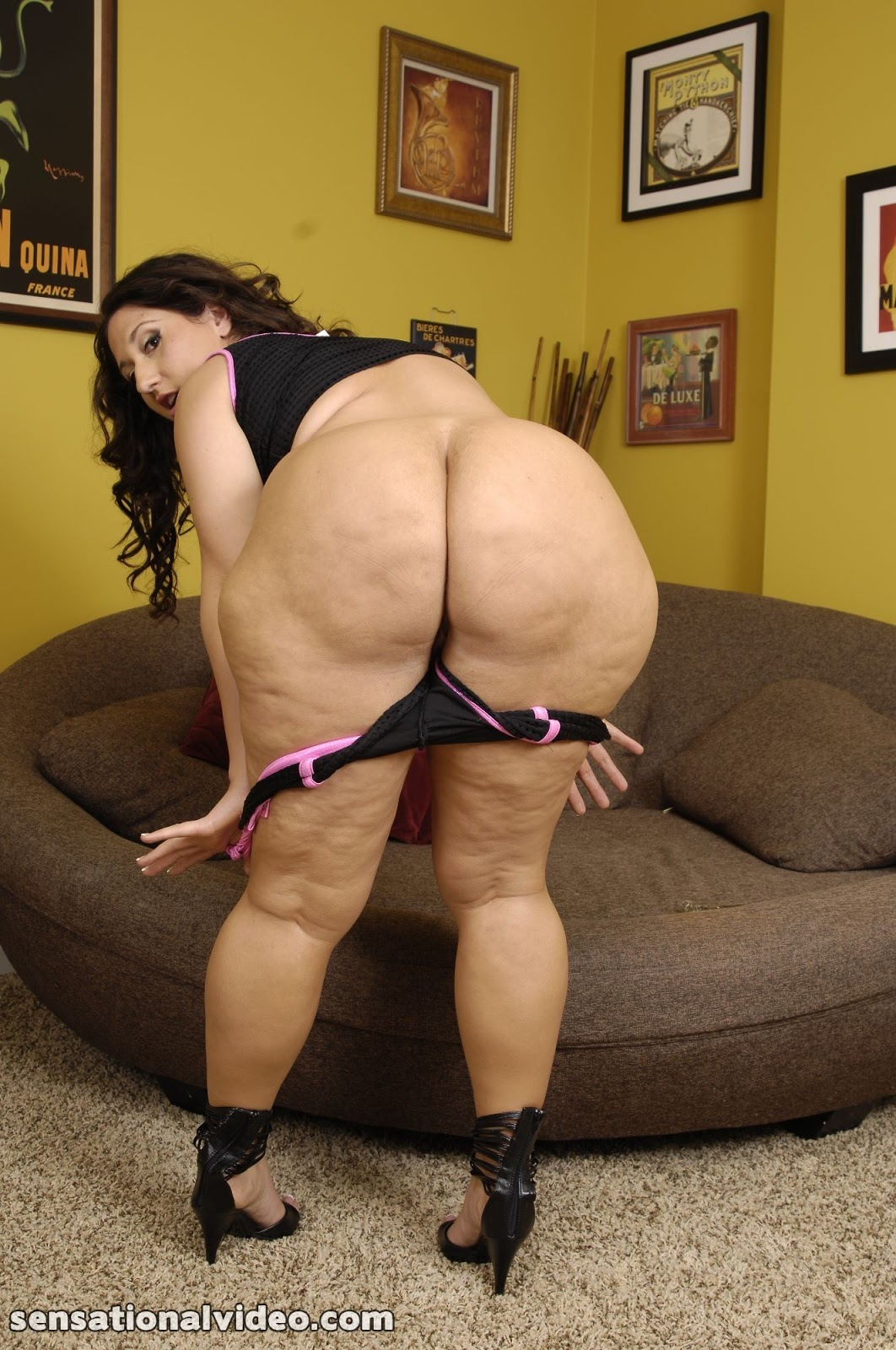 Mature Fat Ass
