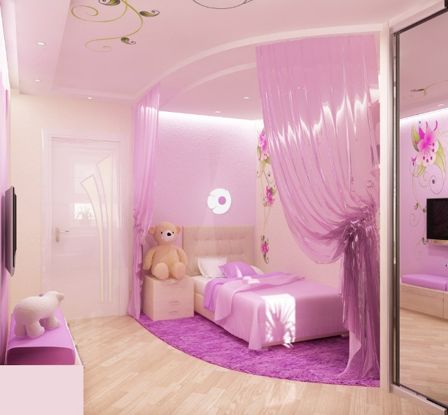 7 Year Old Boys Bedroom Ideas: 50 Best Princess Theme Bedroom Design For Girls