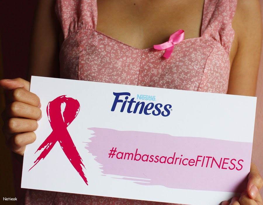 Octobre rose luttons contre le cancer ambassadrice Fitness