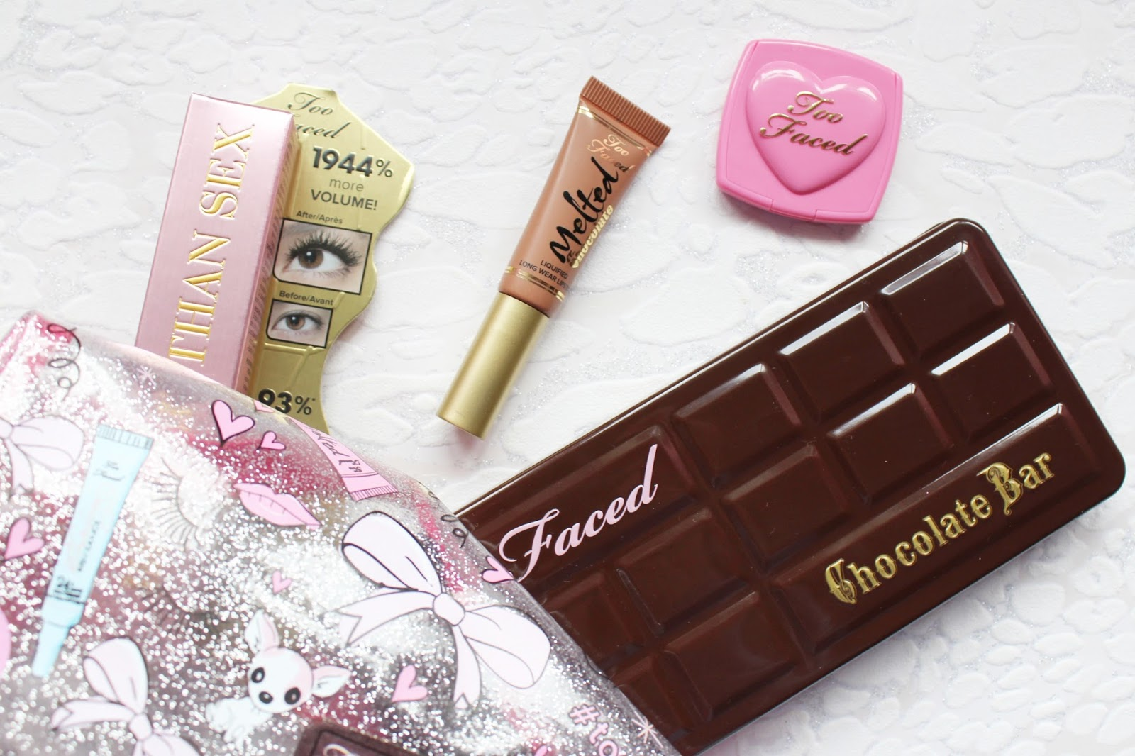 Too Faced x Skinny Dip