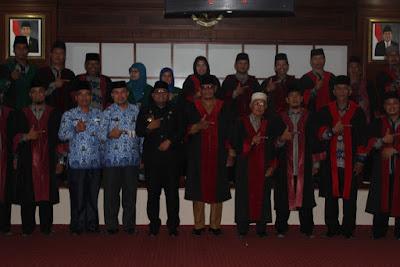 Kakankemenag Tanjungbalai Dilantik Menjadi Dewan Hakim MTQ