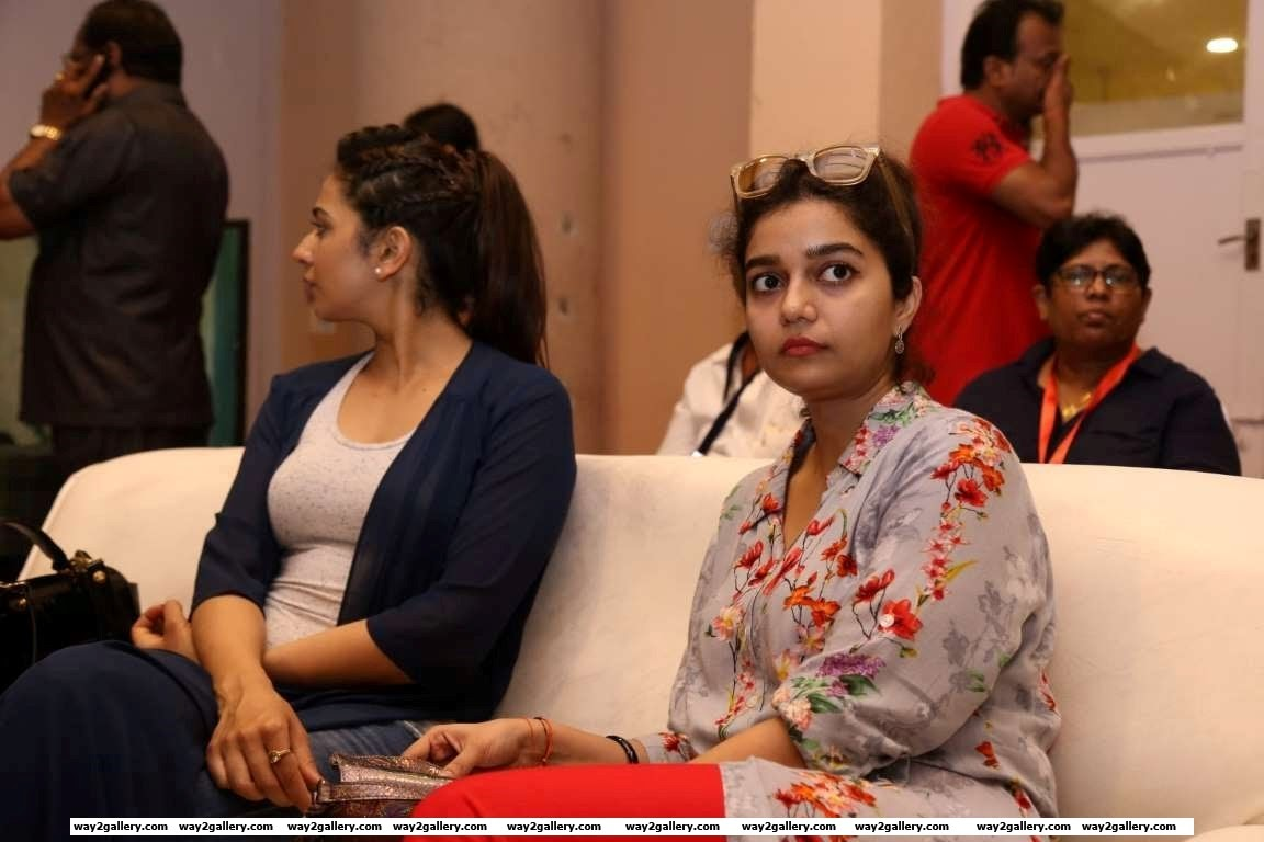Swathi Reddy made a rare appearance at a filmy event