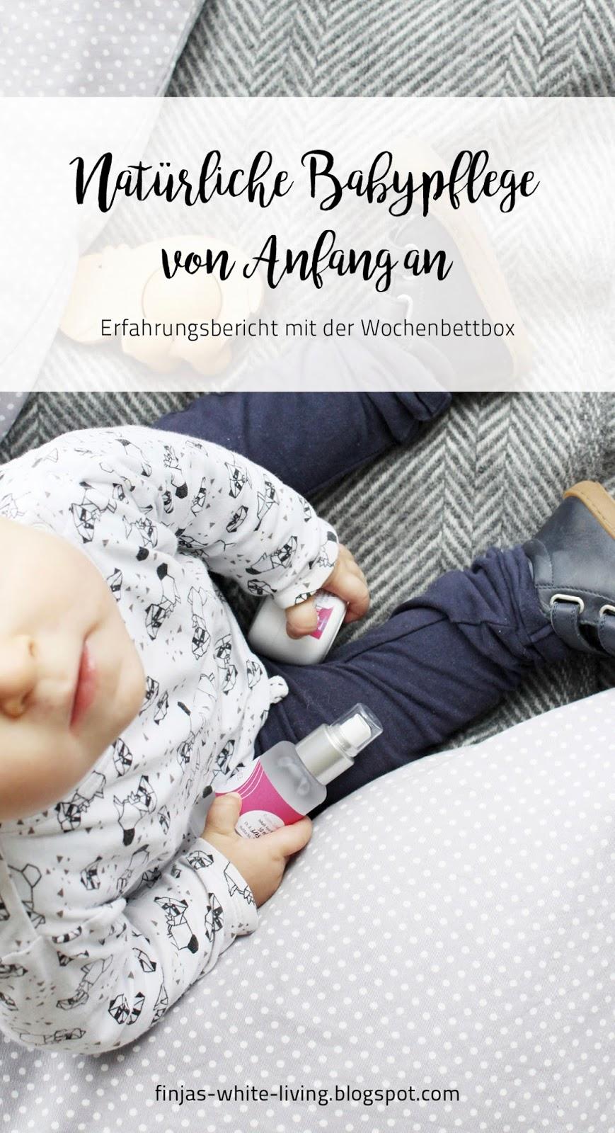 Erfahrungsbericht mit der Wochenbettbox von Kerstin Lücking Natürliche Babypflege auch für Mamas