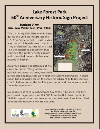 Shoreline Area News: LFP Historic Signs, #6: Horizon View