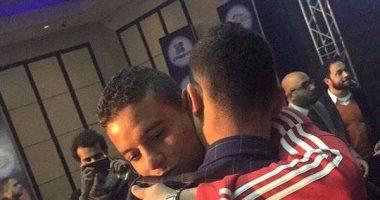 قفا سعد سمير لباسم مرسي انتهى بالحضن