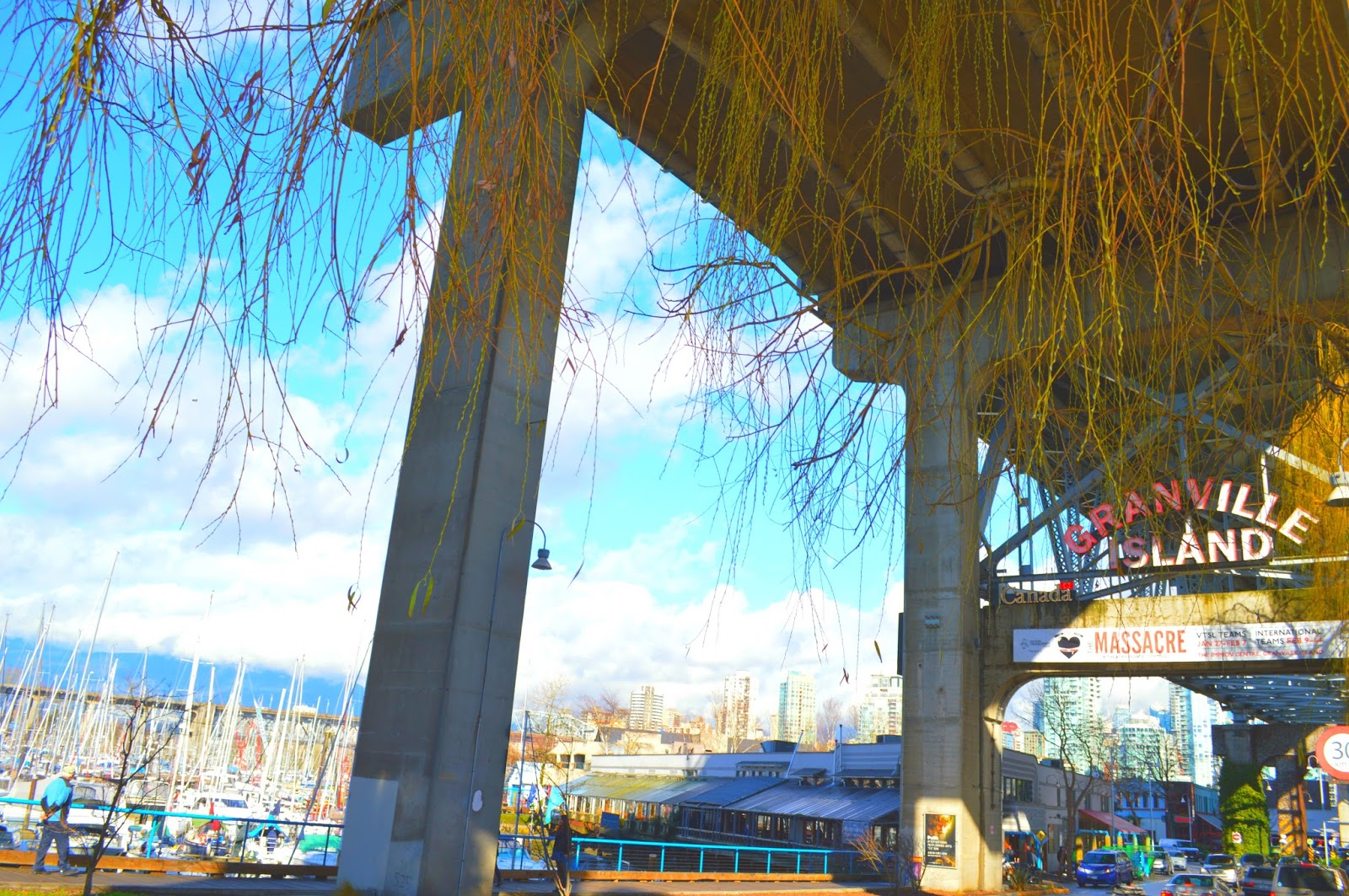 how to get to granville island from downtown vancouver