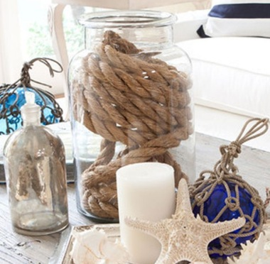 Rope Decor Jar