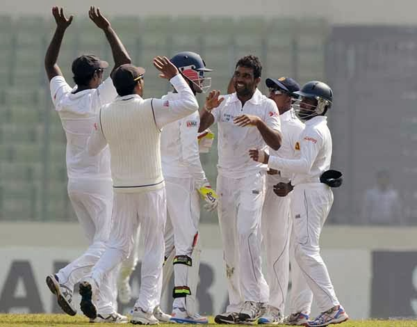 Sri Lanka beat Bangladesh by innings and 248 runs in Dhaka