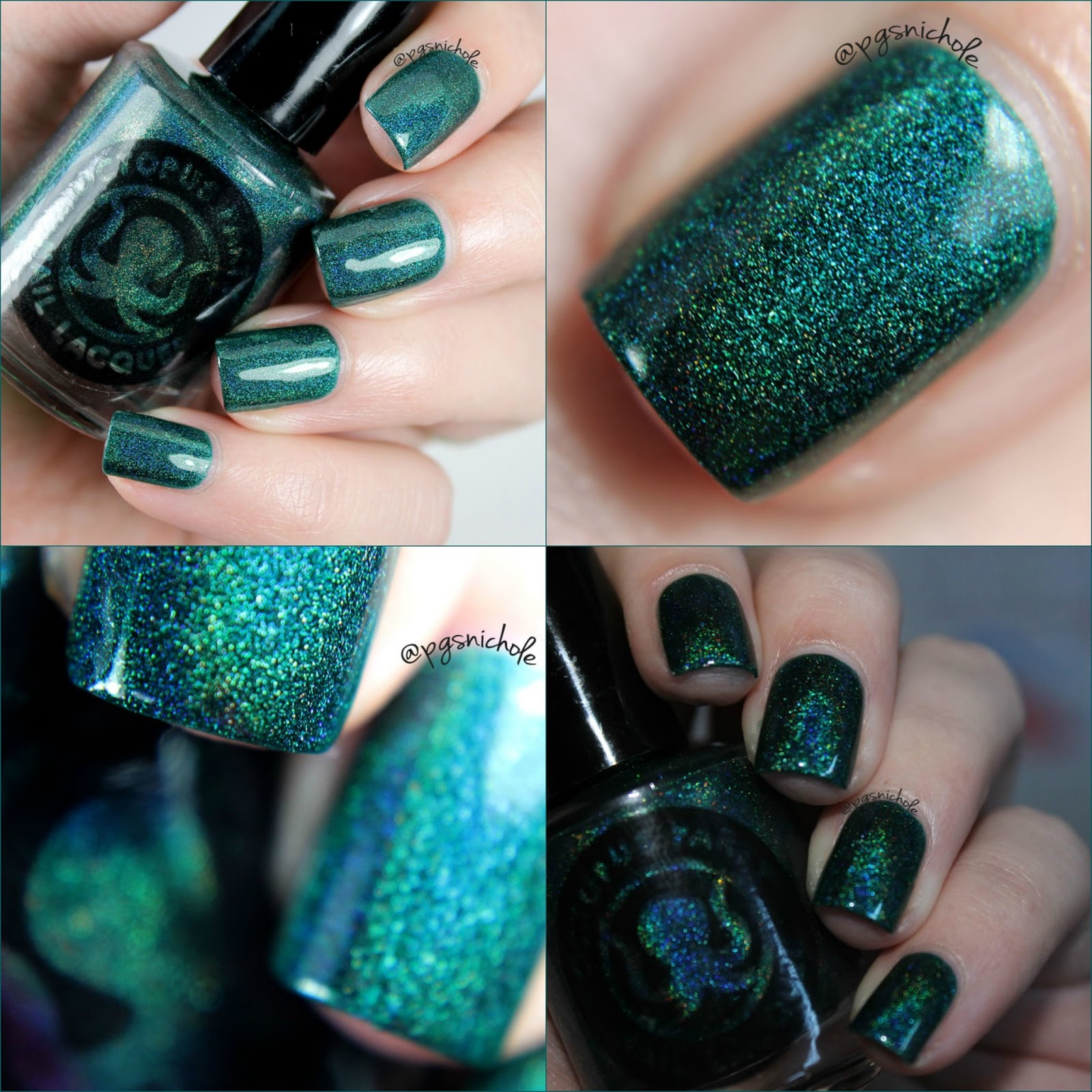 Bedlam Beauty: Octopus Party Nail Lacquer Winter 2015: Part One