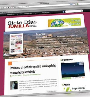 www.sietediasjumilla.es sigue en línea ascendente desde su puesta en marcha
