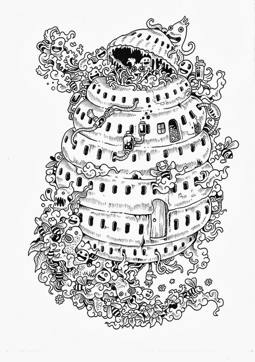 13-Filipino-Artist-Kerby-Rosanes-Doodle-Invasion-Drawings-www-designstack-co