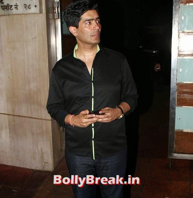 Manish Malhotra, Ekta Kapoor Party Pics