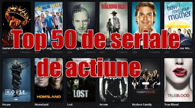 Cele mai bune 50 de seriale de acțiune din toate timpurile