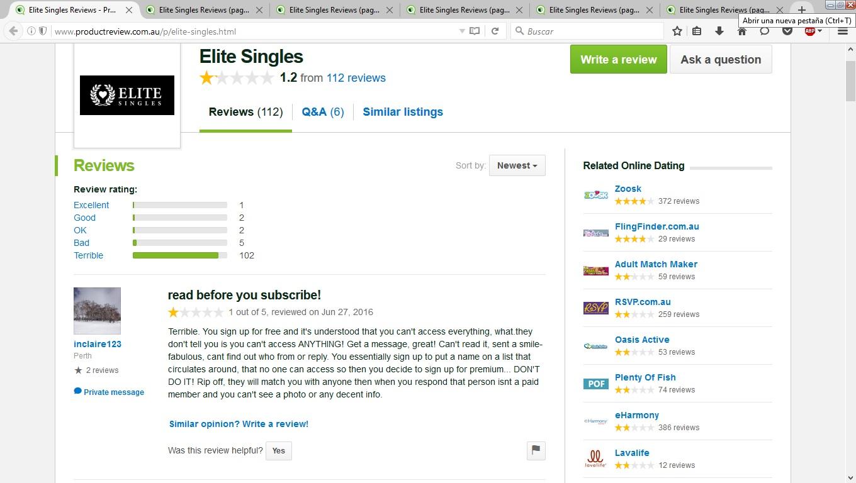 Eharmony vs elite singles