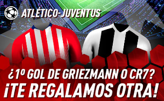 sportium Promo Atlético vs Juventus 20 febrero