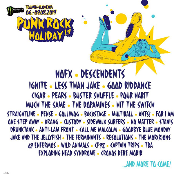 Punk Rock Holiday 1.9 announce lineup