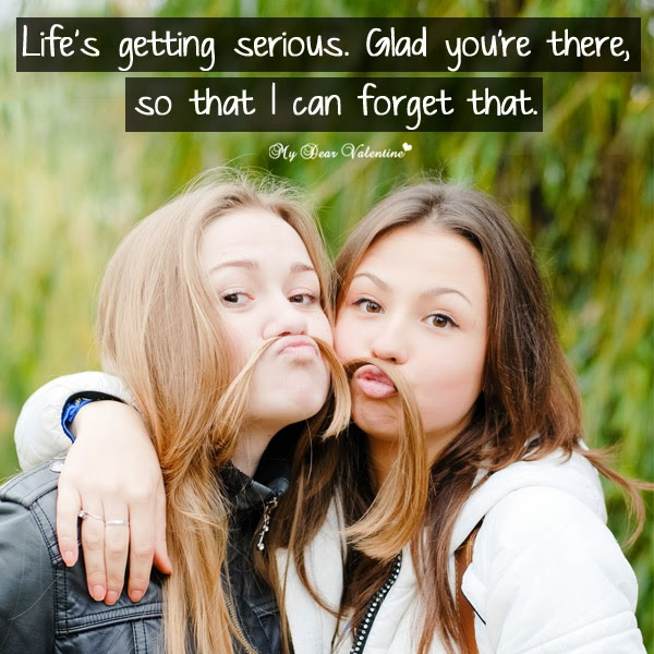 Serious Quotes On Friendship: Lovely Friendship Love Picture Quotes