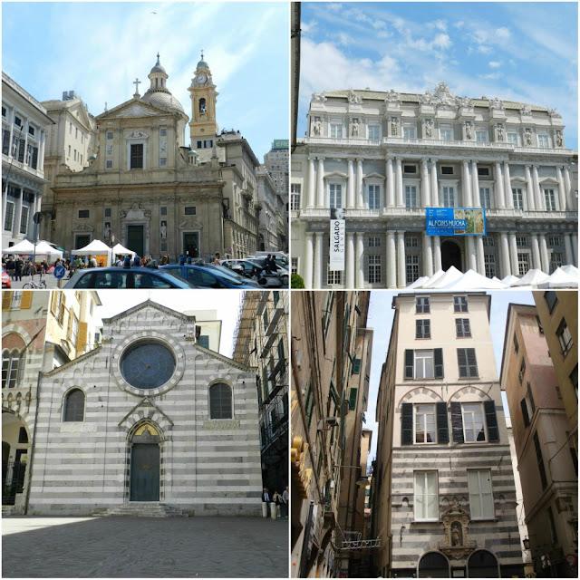 Atrações de Gênova - centro histórico