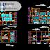 مجموعة مشاريع عمارات سكنية (مجموعة الثانية) اوتوكاد dwg