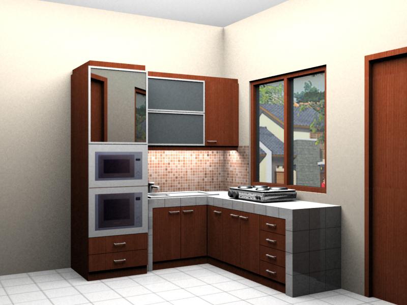 Ide Desain Kitchen Set Untuk Ruang Apartemen