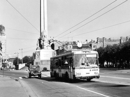 Trolleybus in Riga
