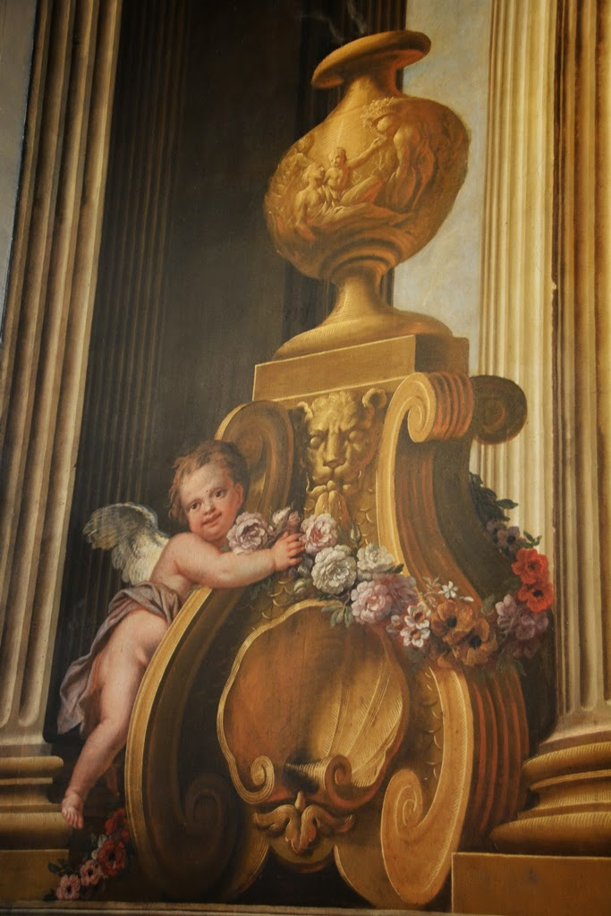 Painted Hall Greenwich angel