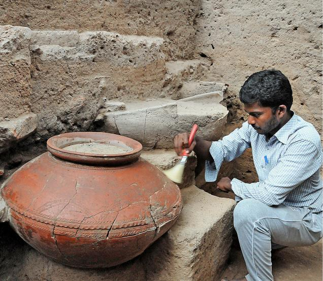 Image result for Keezhadi excavation photos