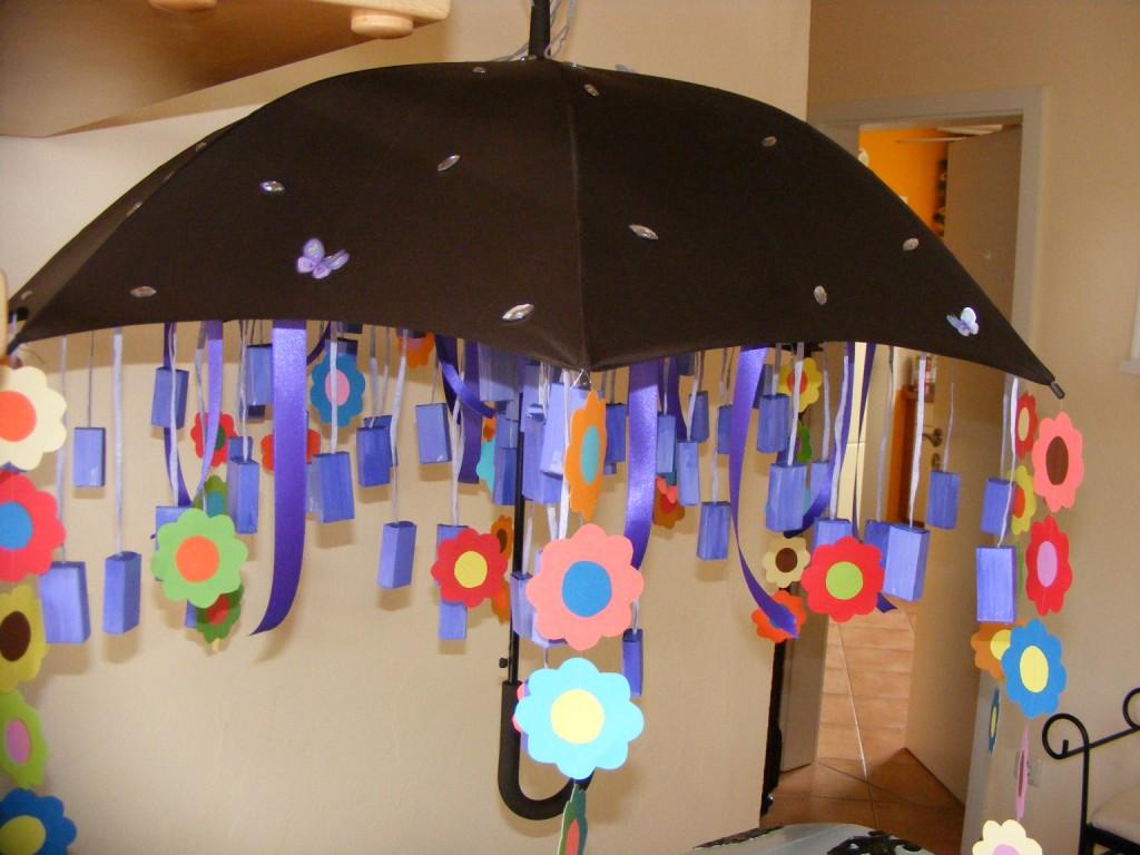Gutschein-geldgeschenk zur Jugendweihe- ein Regenschirm