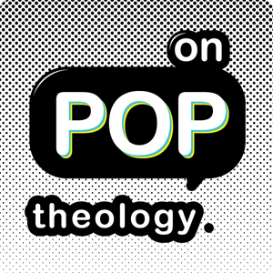 On Pop Theology, Jenna Compton, logo, pop art, pop up video