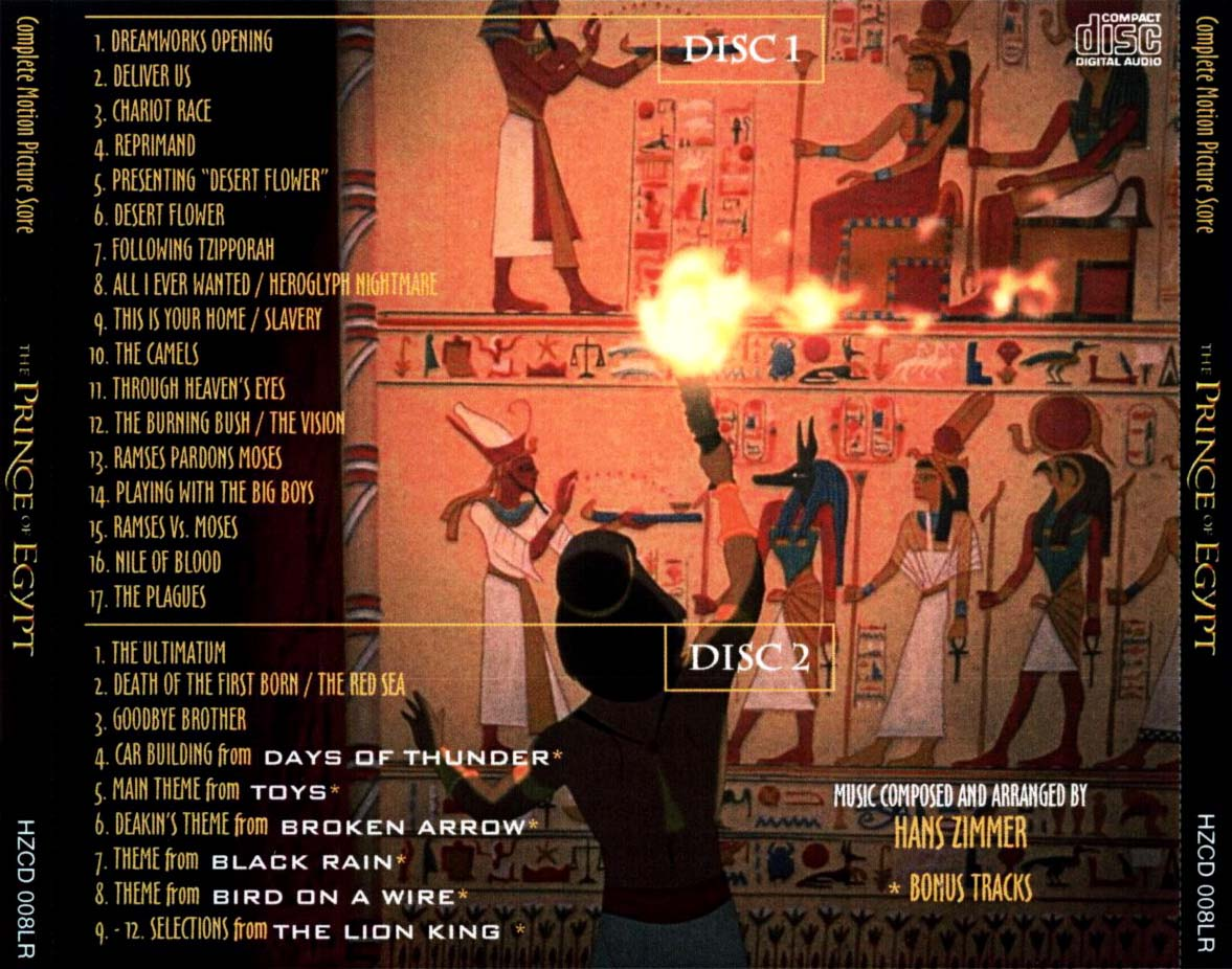 Prince Of Egypt Soundtrack – Articleblog info