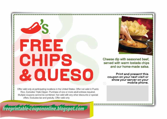 Chili's coupon code