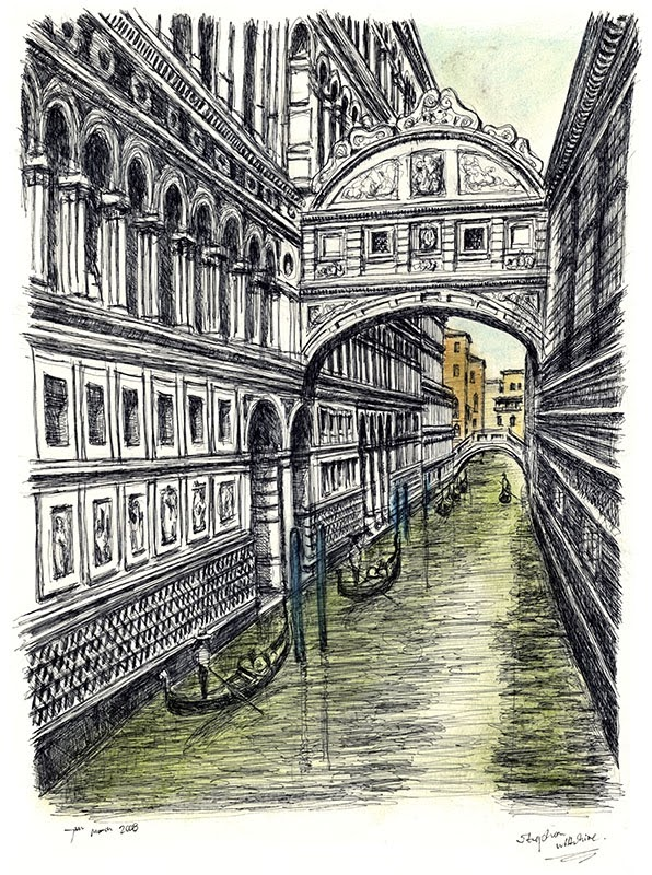 10-Bridge-of-Sighs-in-Venice-Stephen-Wiltshire-Urban-Drawings-from-Memory-with-Detailed-Cityscapes-www-designstack-co